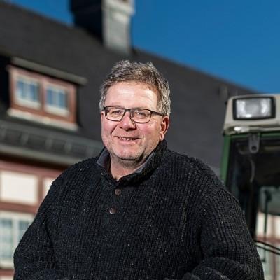 Carsten Pfaff, Weinbauleiter Domäne Steinberg